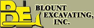 Blount Excavating logo